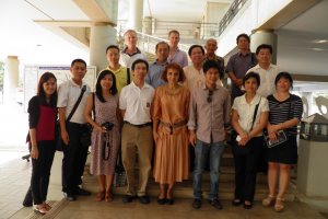 AEMI Brainstorming Session at the Biomass Energy Plant (Saraburi) on October 2014, Thailand